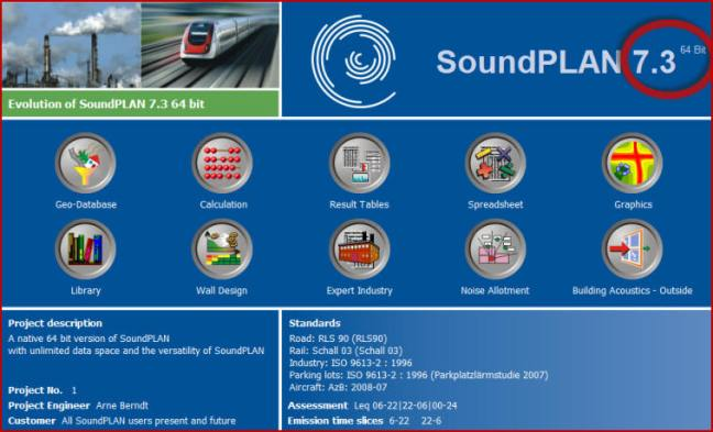 New SoundPLAN 7.3 & New SoundPLAN-Essential 3.0