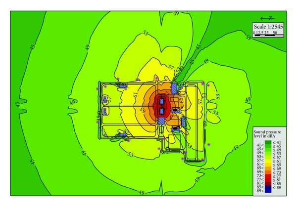 Assess noise impacts of electrical substation using SoundPLAN in China