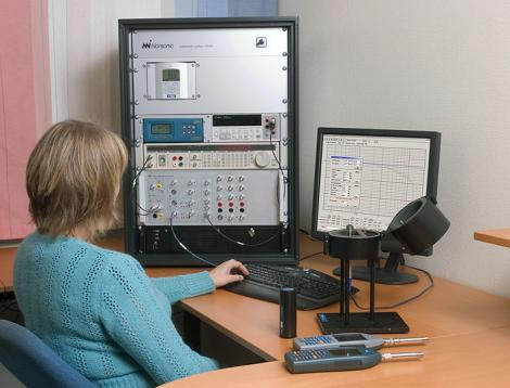 Acoustic Calibration System Norsonic