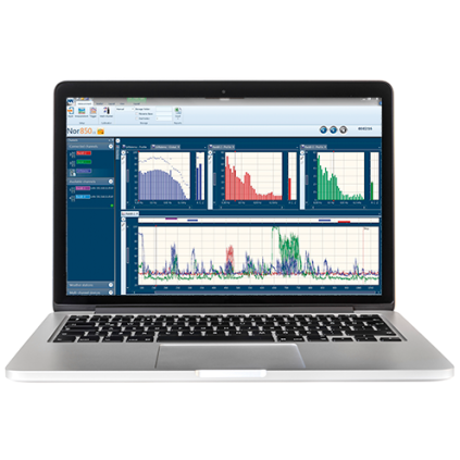Nor850-reporting-software